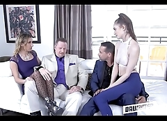 Two Dad'_s Pimp Out Their Teen Daughters To Each Other Part 2