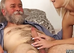 Old young Surprise your girlcomrade and she will nail with your dad