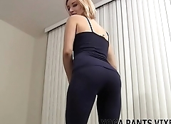 I put on my yoga pants since I know they turn you on JOI