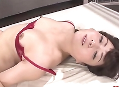Mizuki Ogawa throats before letting dicks in her  - More at Japanesemamas.com
