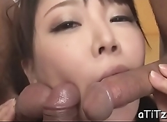 Voluptuous asian'_s wild oral-stimulation