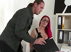 Titty Fuck Paige Delight'_s Huge Tits while she sucks your Cock