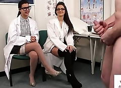 Gorgeous spex nurses humiliating patient