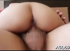 Sweetheart rides a cock and groans