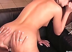 Lucy Lee Stuffing Whole Cocks In All Holes
