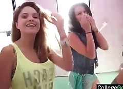(anya&amp_lexy) Party Real College Girls In Group Sex clip-05