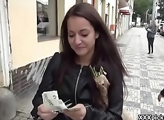 Public Pickups European Girl Seduced By Horny Amarican Tourist 17