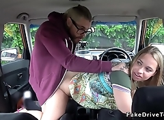 Driving students banging in public