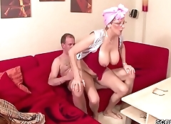German Grandma and Grandfather fuck the whole Day - Deutsche Oma und Opa ficken