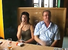 Older man gets to fuck legal age teenager