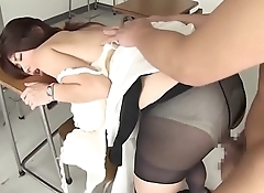 Screamming female teacher temptation extracurricular lessons - doggy