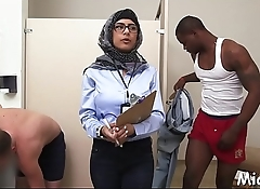 Stunning trio with arab harlots