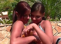 VRpussyVision.com - Lesbian outdoor sports goes hot and horny