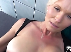 Mature Maid Pays for Indecent Exposure With Her Pretty Cunt